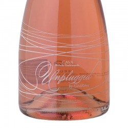 Giró Ribot Unplugged Brut Rose sparkling wine