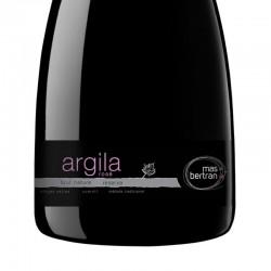 Mas Bertran Argila Rose Brut Nature Reserva sparkling wine