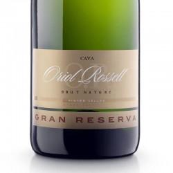 Oriol Rossell Brut Nature Gran Reserva sparkling wine
