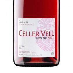 Cava Celler Vell Extra Brut Rosé