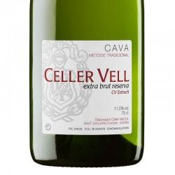 Celler Vell Extra Brut Reserva sparkling wine
