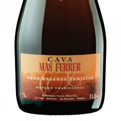 El Mas Ferrer Gran Reserva Familiar sparkling wine