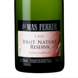 El Mas Ferrer Brut Nature Reserva sparkling wine