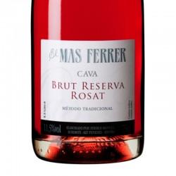 El Mas Ferrer Rosat Brut Reserva sparkling wine