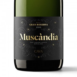 Muscàndia Brut Nature Gran Reserva sparkling wine