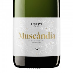 Muscàndia Brut Reserva sparkling wine