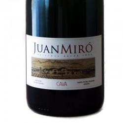 Juan Miró Brut Nature sparkling wine