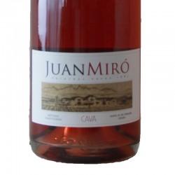 Juan Miró Brut Rose sparkling wine