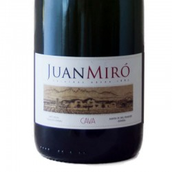 Juan Miró Brut Nature Reserva sparkling wine