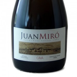 Juan Miró Cuvée Brut Nature Gran Reserva sparkling wine