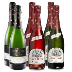 Cuscó Berga sparkling wine pack