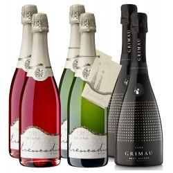 Grimau sparkling wine especial pack