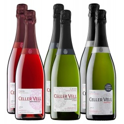 Celler Vell sparkling wine pack