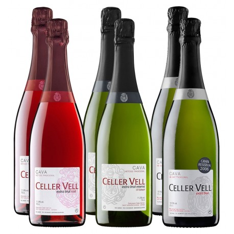 Pack de cavas Celler Vell