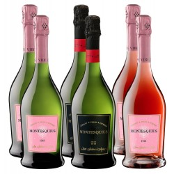 Montesquius sparkling wine pack