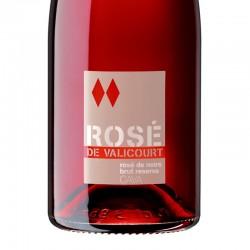 Conde de Valicourt Rose Brut Reserva sparkling wine