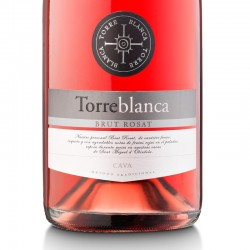 Torreblanca Brut Rose sparkling wine