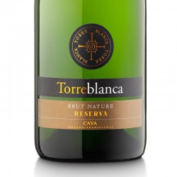 Torreblanca Brut Nature Reserva sparkling wine