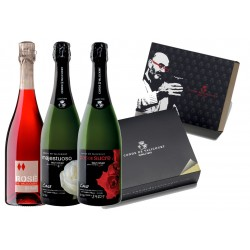 Conde de Valicourt sparkling wine pack - Pop Art