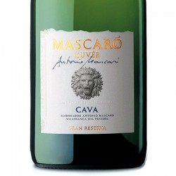 Mascaró Cuvée Antonio Mascaró Gran Reserva sparkling wine
