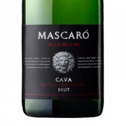 Mascaró Nigrum Brut Reserva sparkling wine