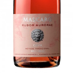 Mascaró Rubor Aurorae Brut sparkling wine