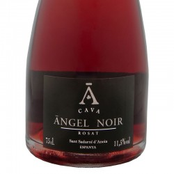 Àngel Noir Rose sparkling wine