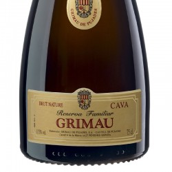 Grimau Reserva Familiar Brut Nature sparkling wine