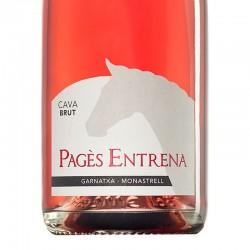 Pagès Entrena Brut Rose sparkling wine