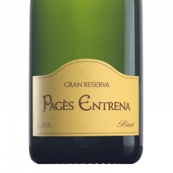 Pagès Entrena Brut Gran Reserva sparkling wine