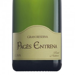 Pagès Entrena Brut Nature Gran Reserva sparkling wine