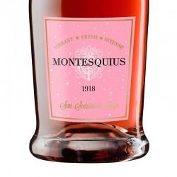 Montesquius 1918 Extra Brut Reserva Rose sparkling wine