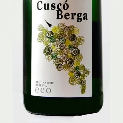 Cuscó Berga Brut Nature Reserva Ecological sparkling wine