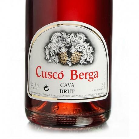 Cava Cuscó Berga Brut Rosado