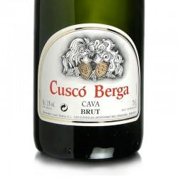 Cuscó Berga Brut Gran Reserva Premium sparkling wine