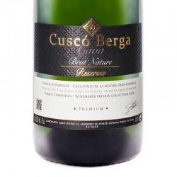 Cuscó Berga Brut Nature Reserva Premium sparkling wine